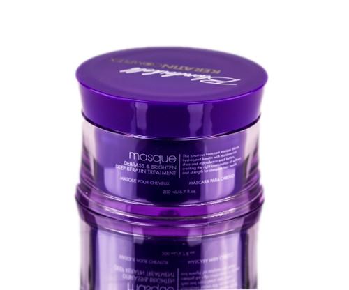 Keratin Complex Blondeshell Masque - Debrass & Brighten Deep Keratin Treatment