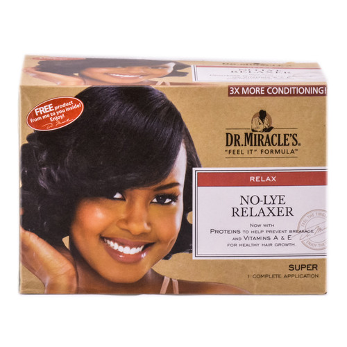Dr. Miracle's No-Lye Relaxer