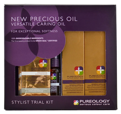 Pureology New Precious Oil Versatile Caring Oil Stylist Trial Kit