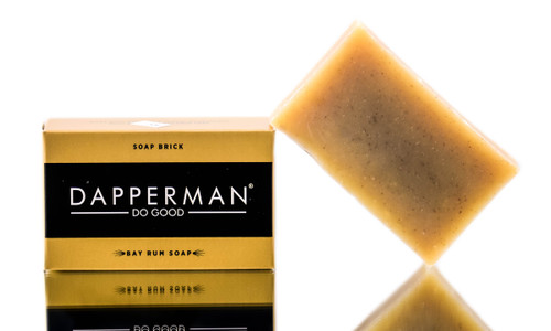 Dapperman Organic Body Soap Brick