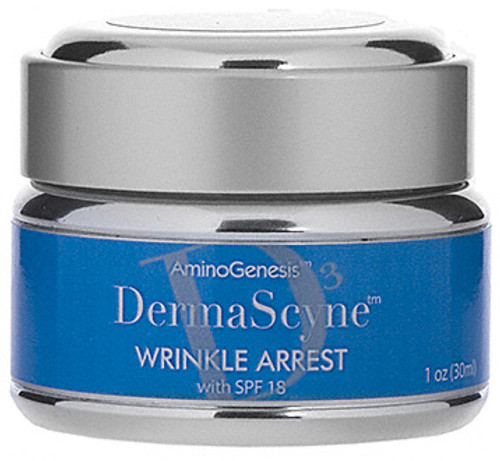 AminoGenesis DermaScyne Wrinkle Arrest  - anti aging day cream with spf 18