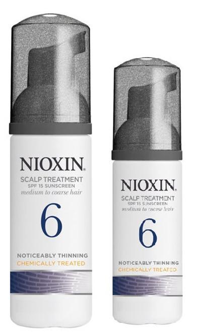 Nioxin System 6 Scalp Treatment for medium to coarse hair