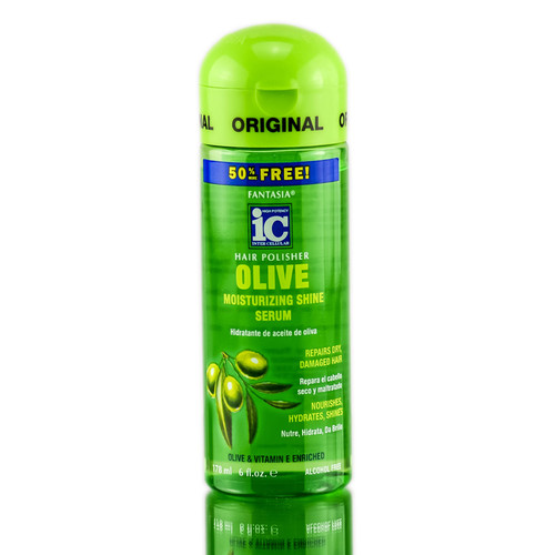 Fantasia IC Hair Polisher Olive Moisturizing Shine Serum