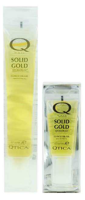 Nail Supplements: Qtica Solid Gold Cuticle Oil Gel