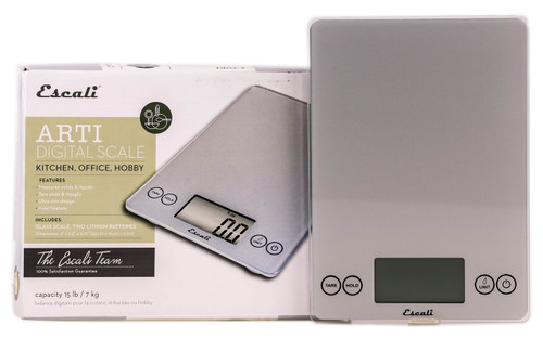 Escali Arti Digital Scale - For Kitchen, Office & Hobby