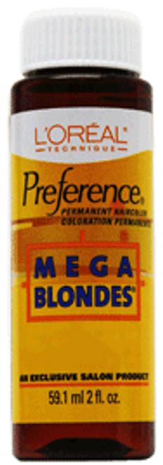 L'Oreal Preference Mega Blondes Permanent Haircolor