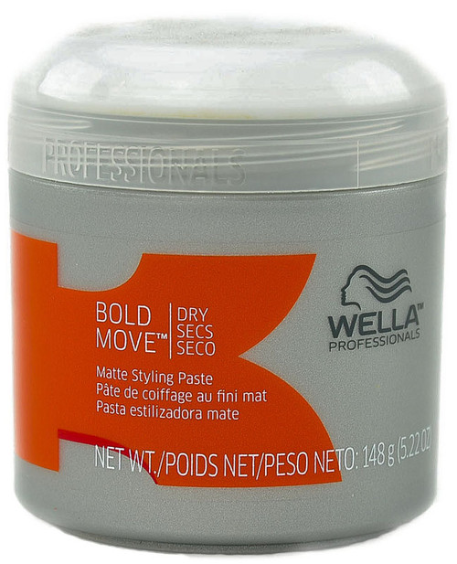 Wella Professionals Bold Move Matte Styling Paste - Dry