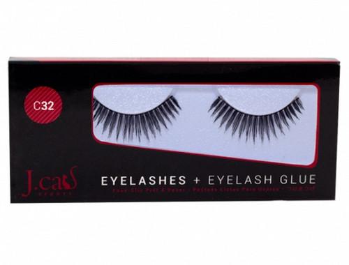 J Cat Eyelashes & Eyelash Glue
