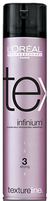 L'Oreal Textureline Infinium 3 - Strong Hold Professional Hairspray