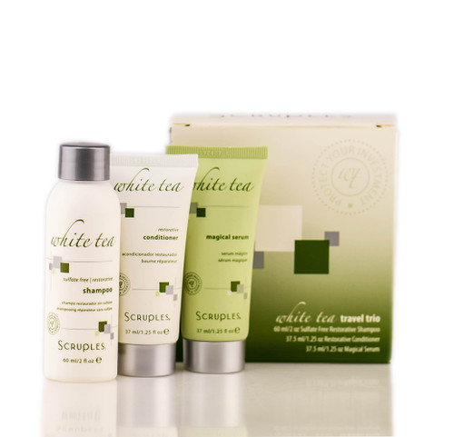 Scruples White Tea Luxury Collection - Travel Trio Kit