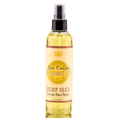Earthly Body Hemp Seed Nag Champa Glow Oil Spray