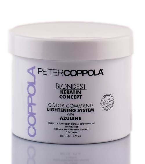 Peter Coppola Keratin Concept Color Command Lightening System w/ Azulene
