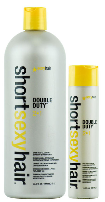 Short Sexy Hair Double Duty 2 in 1 Shampoo/Conditioner