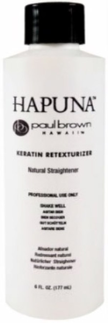 Paul Brown Hapuna Keratin Retexturizer - Natural Straightener