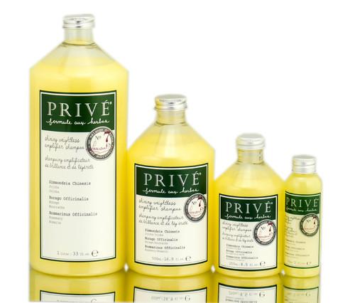 Prive Shining Weightless Amplifier Shampoo # 17