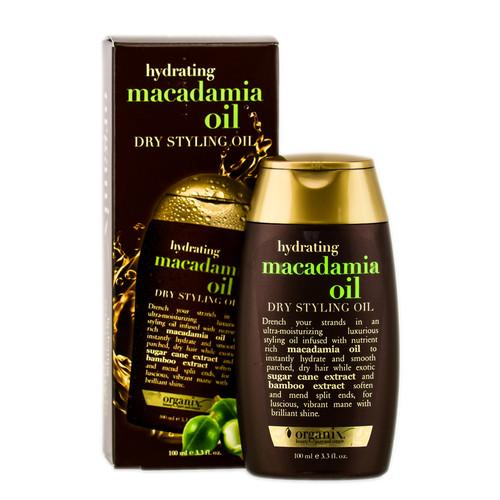 Organix Hydrating Macadamia Dry Styling Oil