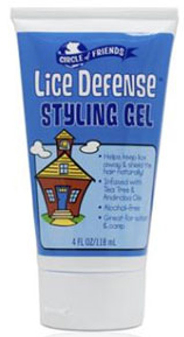 Circle of Friends Lice Defense Styling Gel