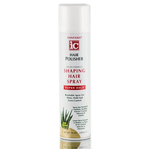 Fantasia ic heat protector straightening serum sleekshop fantasia ic hair polisher shaping hair spray super hold sciox Images
