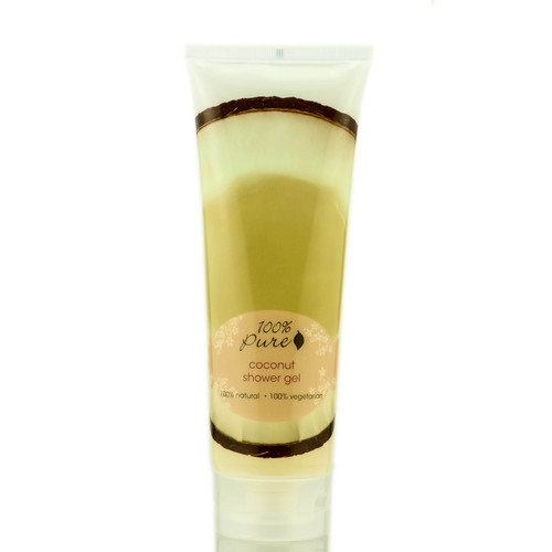 100% Pure Coconut Shower Gel