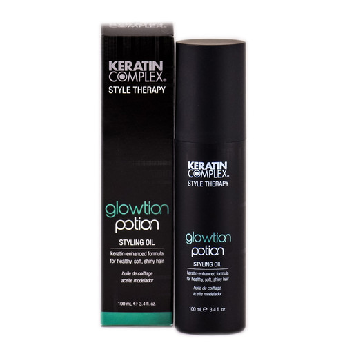 Keratin Complex Style Therapy Glowtion Potion Styling Oil