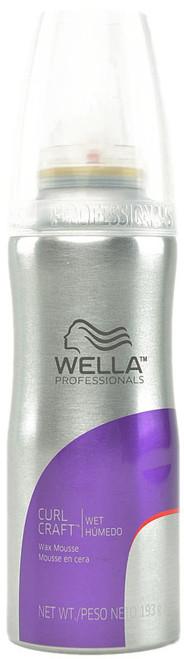 Wella Professionals Curl Craft Wax Mousse - Wet