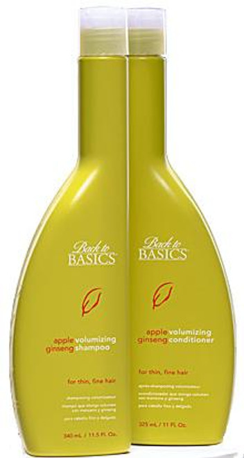 Back to Basics Apple Ginseng Volumizing Shampoo
