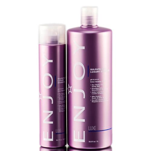 Enjoy Sulfate-Free Luxury Shampoo