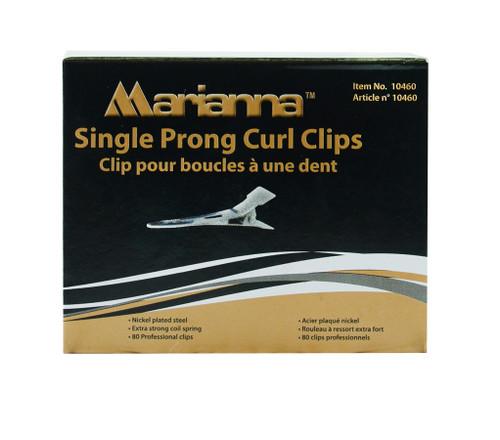 Marianna Single Prong Steel Clips