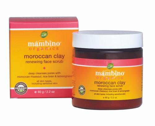 Mambino Organics Moroccon Clay Renewing Face Scrub