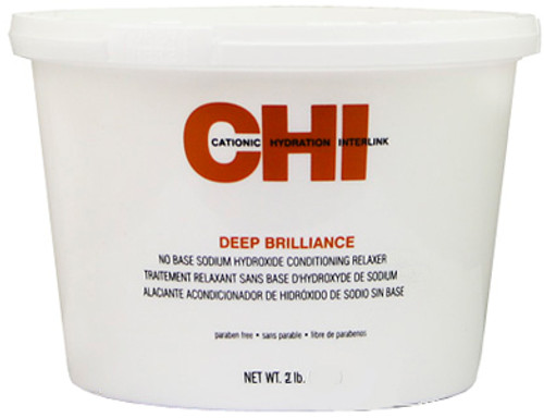 CHI Deep Brilliance No Base Sodium Hydroxide Conditioning Relaxer