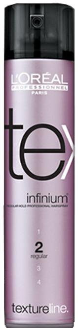 L'Oreal Textureline Infinium 2 - Regular Hold Professional Hairspray