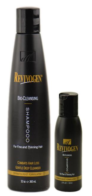 Revivogen Hair Loss Solution: Revivogen Bio-Cleansing Shampoo for fine and thinning hair