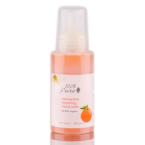 100% Pure Clementine Hydrating Hand Wash
