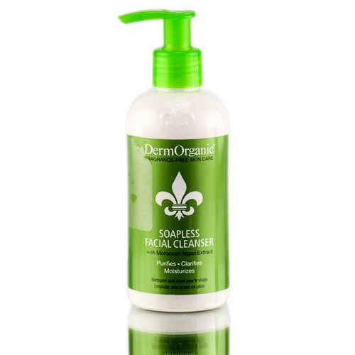DermOrganic Anti Aging Soapless Facial Cleanser
