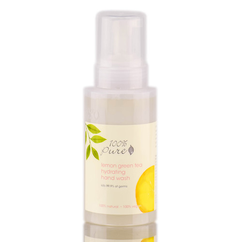 100% Pure Lemon Green Tea Hydrating Hand Wash