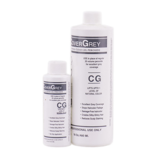 Satin Developlus Crystal Clear Gel Peroxide Cover Grey