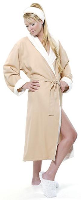 Spa Sister: Spa Sister Microfiber-Lined Spa Robe