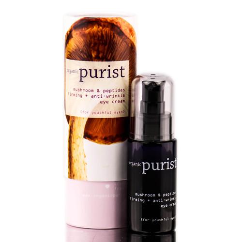 100% Pure Organic Purist Mushroom & Peptides Firming + Anti-wrinkle Eye Cream