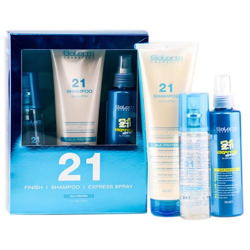 Salerm 21 Silk Protein Sets - Trio Gifts Set