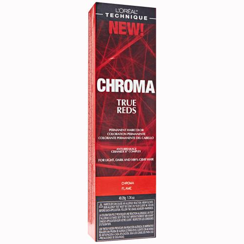 L'Oreal Chroma True Reds Permanent Haircolor