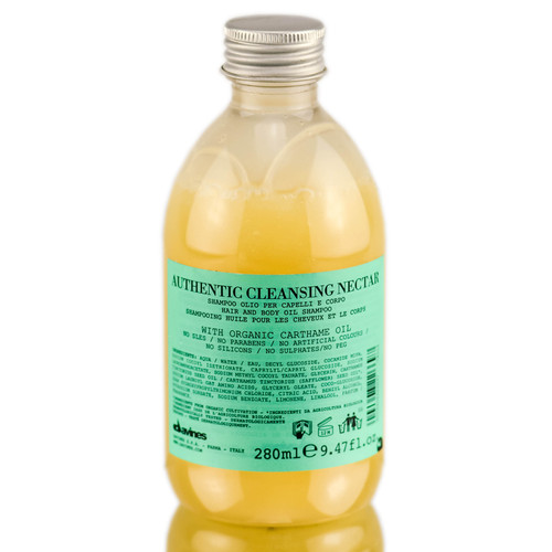 Davines Authentic Cleansing Nectar Hair and Body Oil Shampoo