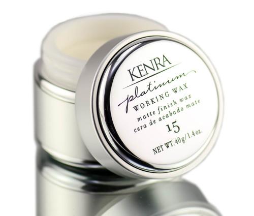 Kenra Platinum Working Wax 15 - Mold & Modify