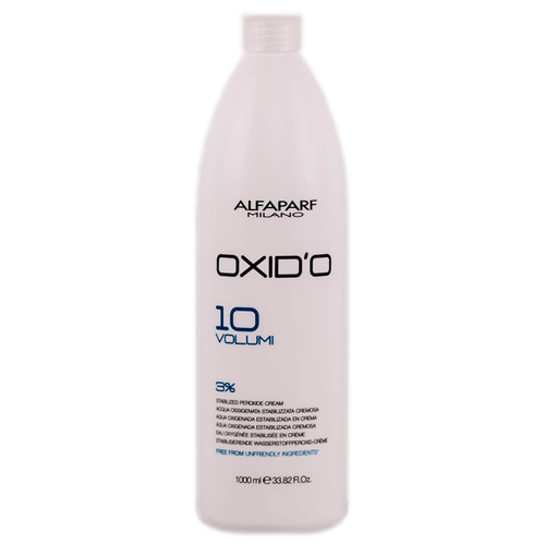Alfaparf Milano Oxid'o 10 Volume 3% Peroxide Cream Developer