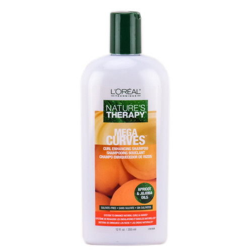 L'Oreal Nature's Therapy Mega Curves Curl Enhancing Shampoo