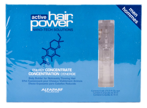 Alfaparf Active Hair Power - Energy Concentrate for MEN