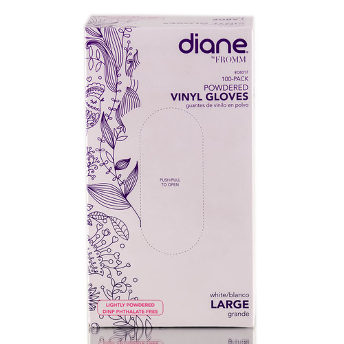 Diane Powdered Vinyl Gloves