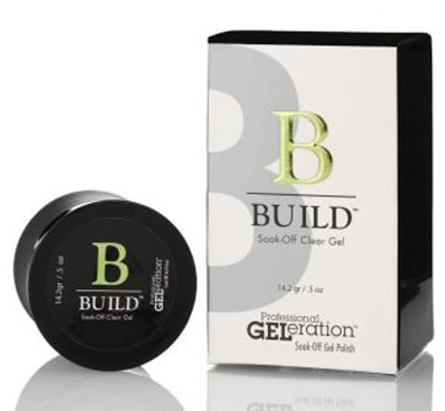 Nail Supplements: Geleration Build Soak-Off Clear Gel