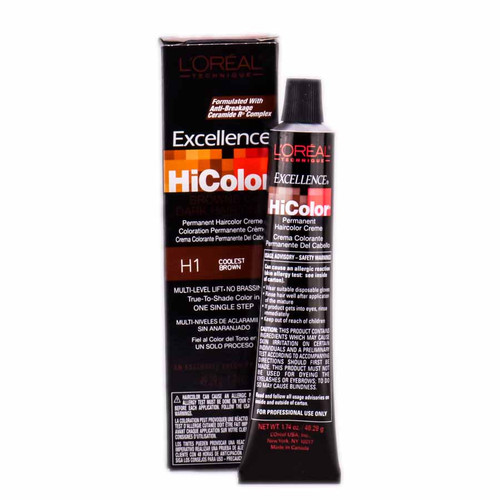 L'Oreal Technique Excellence HiColor Permanent Creme - For Dark Hair only