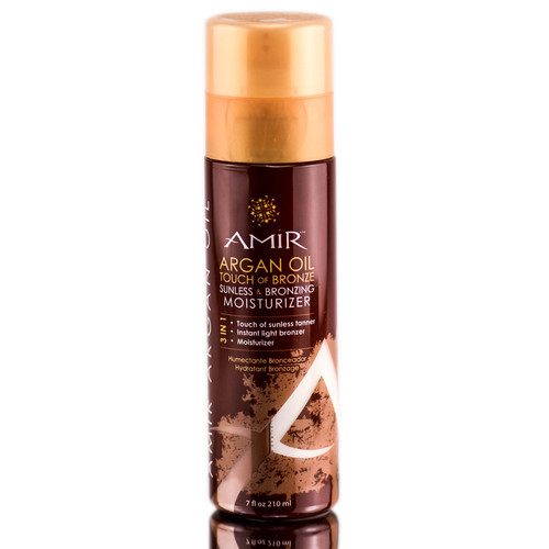 Amir Argan Oil Touch Of Bronze Sunless & Bronzing Moisturizer