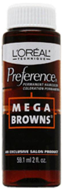 L'Oreal Preference Mega Browns Permanent Haircolor
